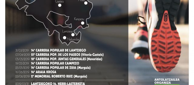 14º CIRCUITO CARRERAS PIPULARES DE ALAVA PREMIO FUNDACIÓN VITAL